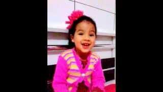 Música Raridade - Criança de 3 anos adorando ao Senhor!