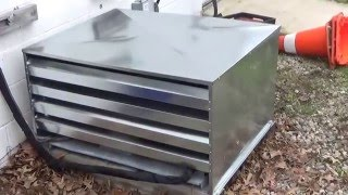 Sheet metal weatherproof condensing unit cover part 2