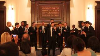 Let Me Love You - Columbia SHARP All Male A Cappella