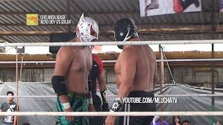 Aero Boy vs Solar, en Chilanga Mask