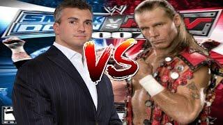 WWE Smackdown vs Raw 2007  Shane Mcmahon vs Shawn Michaels