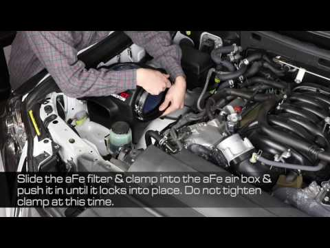 How To Install aFe Power 2008-2017 Toyota Land Cruiser V8-5.7L Momentum GT Intake System 54-76006