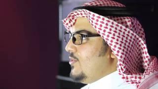 Pioneer Abdulaziz Al-Qarni and the visual marketing and projection project