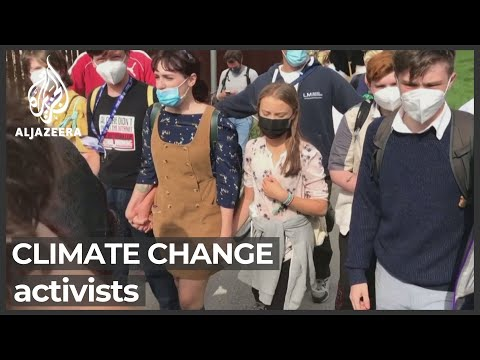 Hundreds of climate activists push for change in Milan