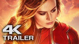 CAPTAIN MARVEL Trailer 3 (4K ULTRA HD) 2019 - Brie Larson Superhero Movie