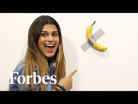 The Artist Who Ate A $120K Banana At Art Basel Miami Is Now Auctioning NFT's With Dole | Forbes photo