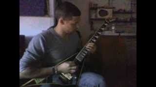 80's ballad backing track guitar solo cover a major rr24