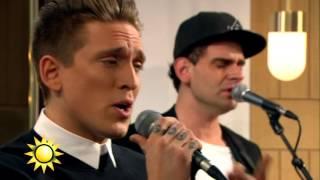 """Danny Saucedo - """"Så som i himlen"""" - Nyhetsmorgon (TV4)"""