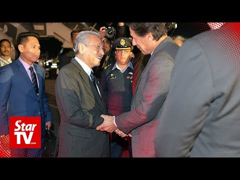 PM arrives in Islamabad for three-day visit