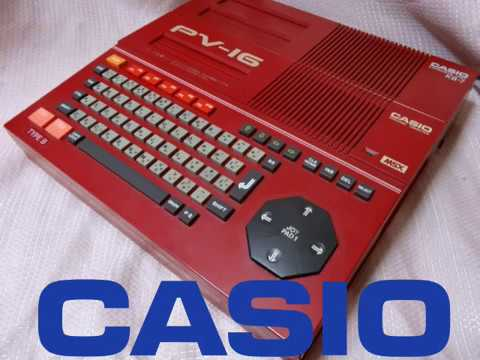 Opiniones Pixeladas #004: Pequeña historia de Casio en el MSX