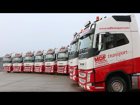 Volvo Trucks ? Putting Volvo FH to the test handling abnormal loads (Volvo FH25 years)