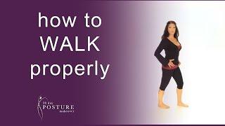 Posture Coach Explains How to WALK Properly
