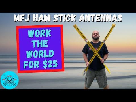 Antenna Review | MFJ Ham Stick