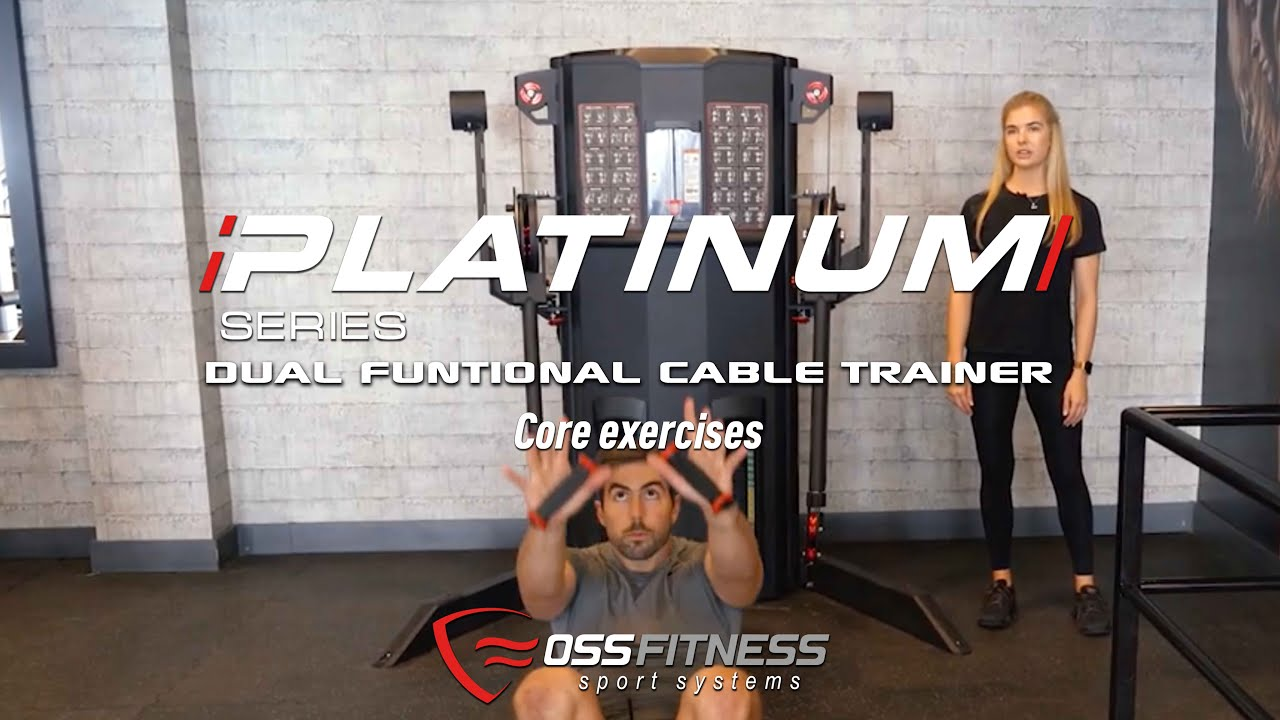 Vídeo YouTube Dual Funcional Cable Trainer