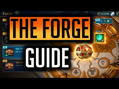 RAID | THE FORGE!