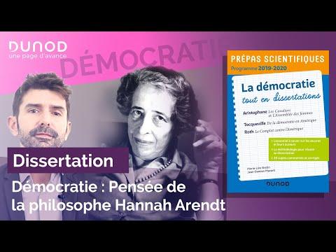 Vidéo de Hannah Arendt