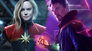 Why Doctor Strange Used The Time Stone To Bring Captain Marvel Into Avengers 4