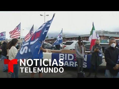 Miembros de la comunidad latina en Nevada se alegran de haber contribuido a la victoria de Joe Biden
