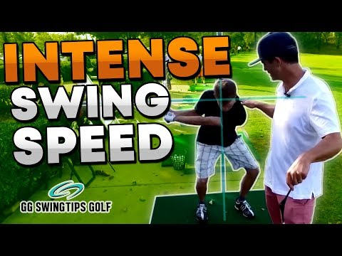INTENSE Golf Swing Speed By Stabilizing Your Shoulders