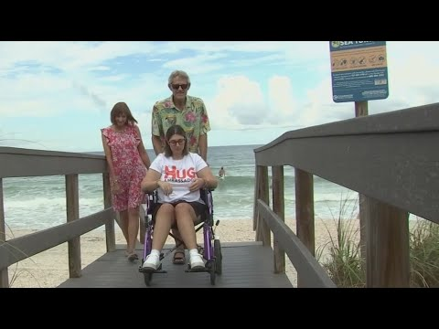 Mobi-mats improve access to beaches