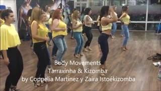 Coppelia Martínez y Zaira IstoéKizomba tarraxinha & kizomba coreo