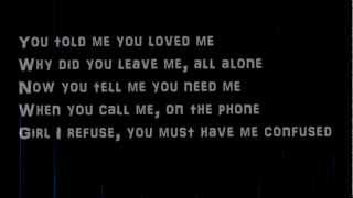 Justin Timberlake-Cry me a river lyrics on screen (HQ)(HD) width=