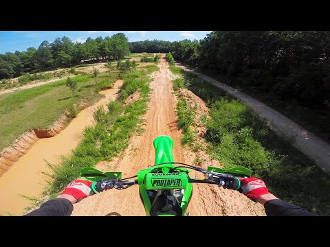 Silly Squid getting Sketchy on 2020 KX250F