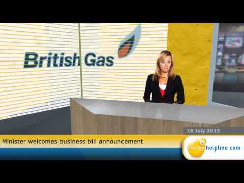 Minister welcomes business bill announcement