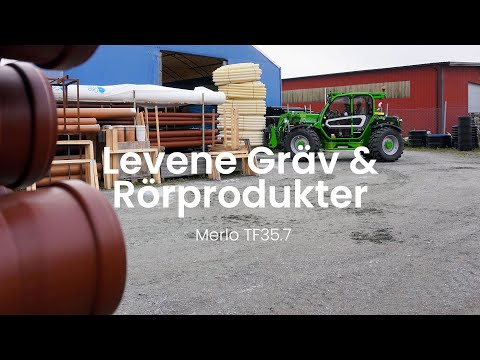 Merlo TF35.7 - Levene Gräv & Rörprodukter