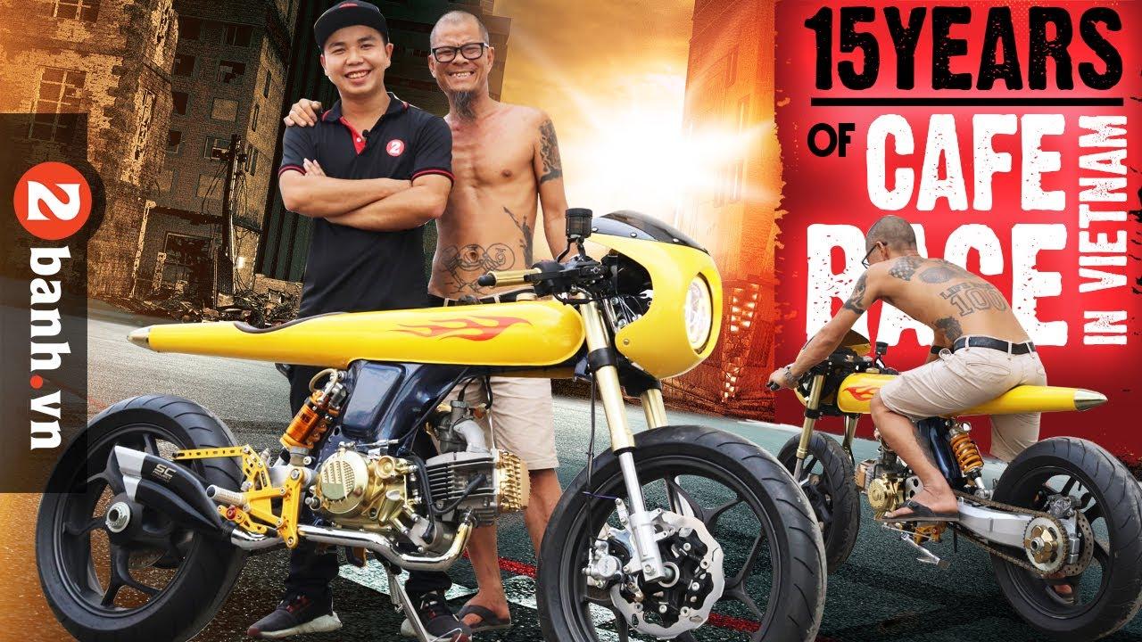 Honda 67 phong cách Cafe Race đẹp KHỦNG tại Việt Nam I 2banh Review