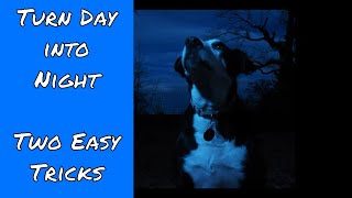 Turn Day into Night: Two Easy Tricks with Flash ep.136