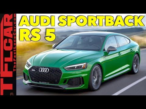 2019 Audi RS5 Sportback: Everything You Ever Wanted to Know