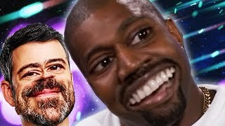 Kanye West Breaks The Simulation with Jimmy Kimmel