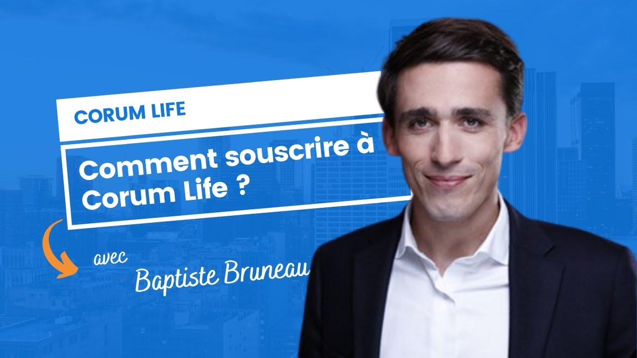 Comment souscrire à Corum Life ?