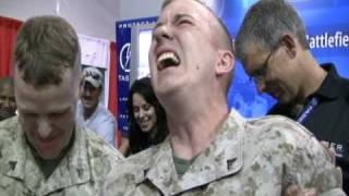WOW VIDEO - Marine's Express Many Emotions From Getting Tased - WOW!