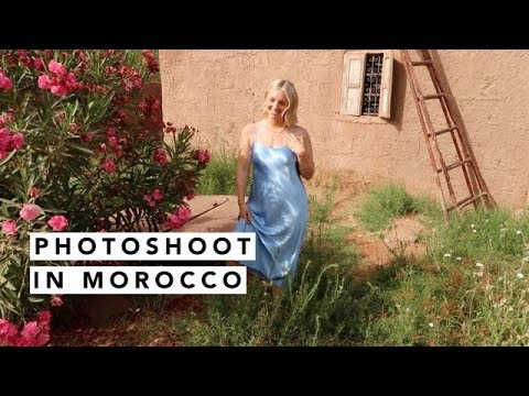 [AD] JEWELLERY PHOTOSHOOT IN MOROCCO | Estée Lalonde