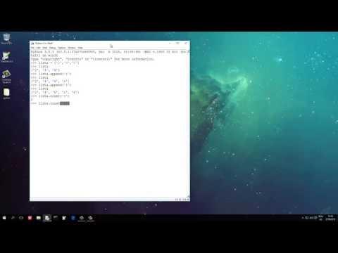 Tutoriale Video Python nr. 13 metodele de baza. prestabilite in python asupra listelor