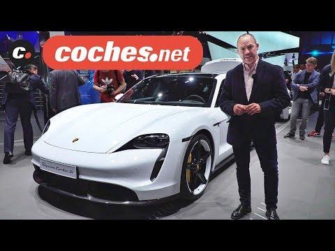 Porsche Taycan 2020   Deportivo Eléctrico   Salón de Frankfurt IAA 2019 en español   coches.net