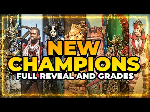 MORE New Champs?! Reveal  + GRADES | RAID Shadow Legends
