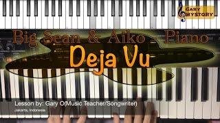 Big Sean & Jhene Aiko - Deja Vu Easy Piano Tutorial Song Cover Backtrack FREE Sheet Music