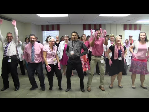 Mercy Health System Pink Glove Dance 2016