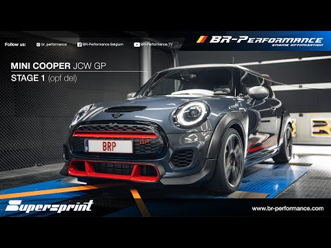 2021 Mini Cooper JCW GP / Stage 1 By BR-Performance / Supersprint OPF Delete