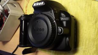 Nikon D3100 Top Cover Removal for Repair - annotations on desktop version