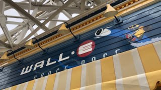 Opening Day Pixar Pier Games Wall-E Space Race