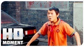 Дре облил грязью Чэна - Каратэ-пацан (2010) - Момент из фильма