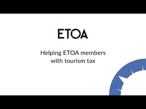 Helping ETOA members with tourism tax
