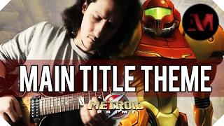 Metroid Prime - Main Title Theme Metal Cover || Arathrum