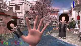 Finger Family (Japanese Family) Nursery Rhymes For Children