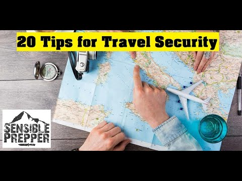 20 Travel Security Tips