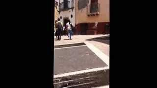Callejón del beso Guanajuato 2015 lugar donde grabaron Como fui a enamorarme de ti Los Bukis 1989